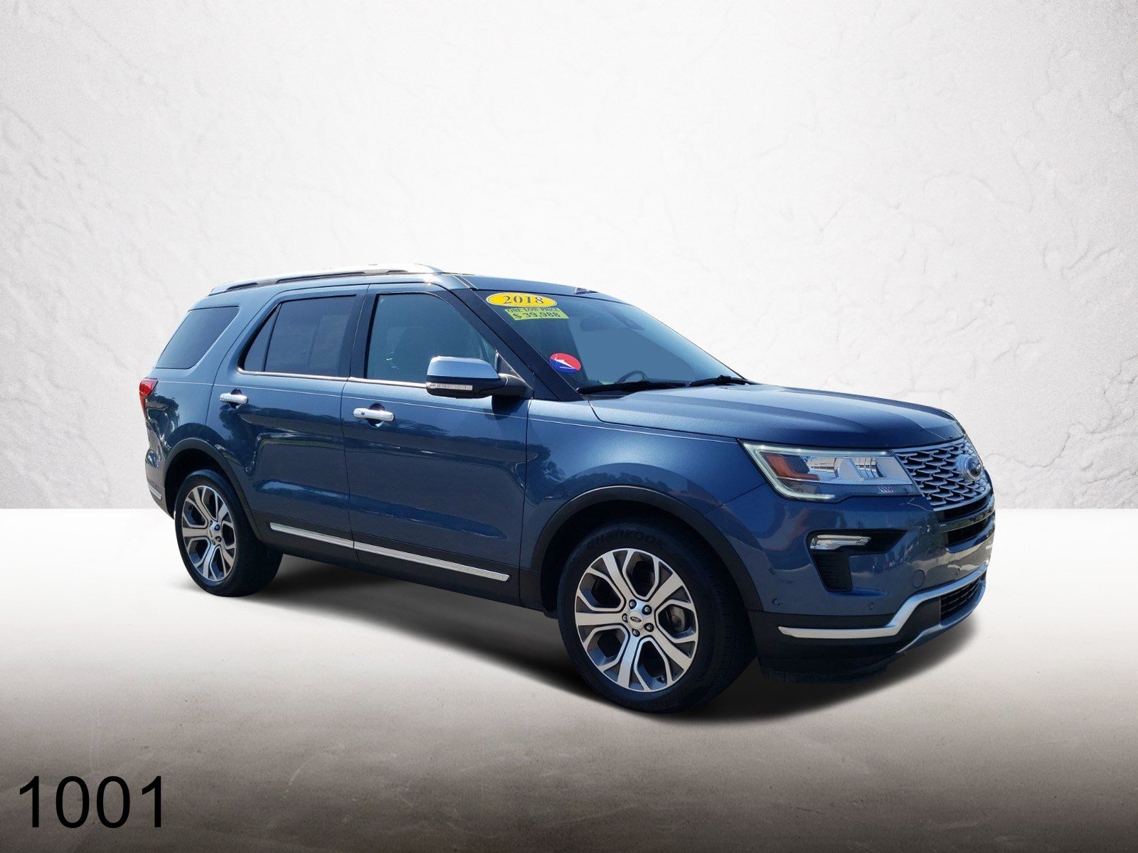 Pre-Owned 2018 Ford Explorer Platinum